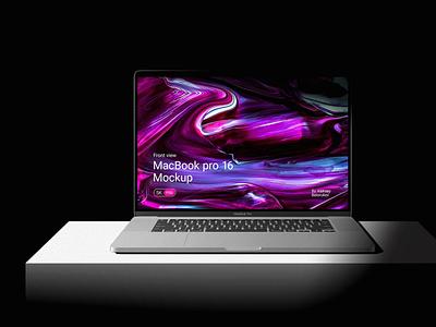 Free Macbook Pro 16 Mockup device design branding free mockup mock up free freebies mock ups mockup
