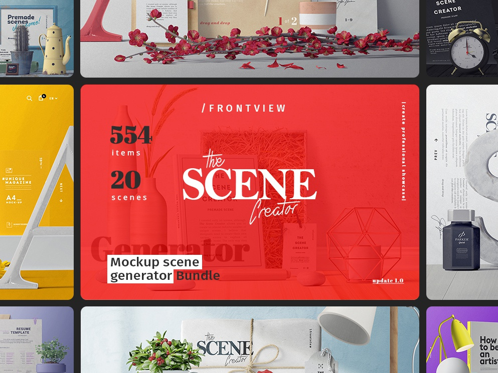 The Scene Creator / Front view stationery mockup stationery calligraphy scene generator notepad mockup iphone mockup notebook mockup magazine mockup book mockup device mockup bag mockup envelope mockup mock up paper mockup scene creator mock ups mockup branding and identity