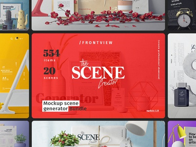 The Scene Creator / Front view
