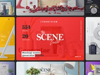 The Scene Creator / Front view