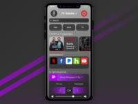 Daily UI Challenge 025 - TV App