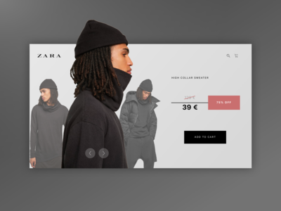 Daily UI 036 - ZARA Special Offer