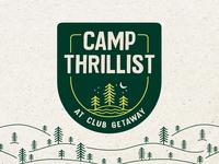 Camp Thrillist Branding
