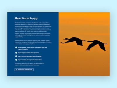 Delta Stewardship Council - Content Component