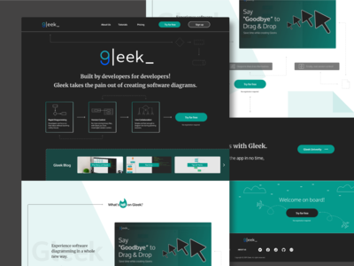 Welcome to Gleek - diagramming software app