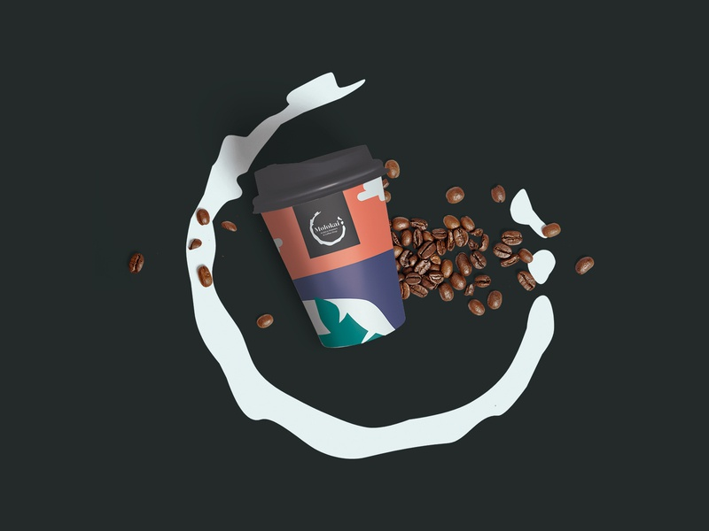 Molokai - Arabica Roasters & Coffee Shop / Cup design