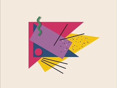 New Wave / April Greiman's design exploration calarts april greiman new wave illustrator graphic design