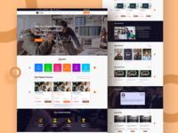 Online Education Website UI Conpect