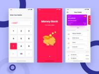 Online Wallet App Design