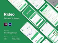 Car Ride App [Ride sharing app-Full deisgn]