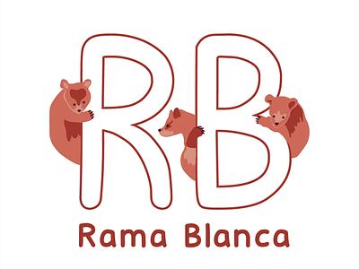 Rama Blanca illustration logo brand logodesign logotype diseño