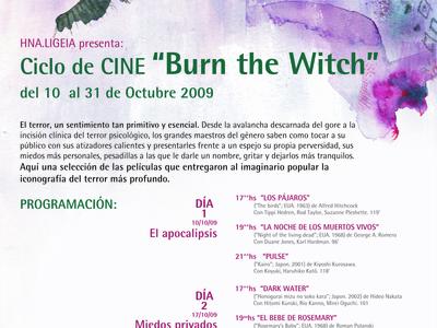Ciclo de Cine, flyer