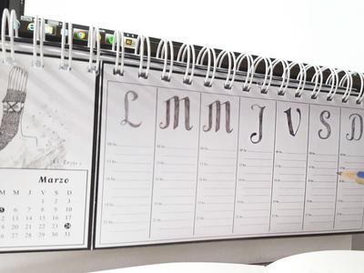 "Calendar planner ""Pagano"""