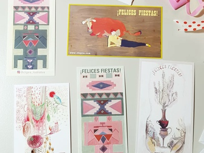 "Cards ""Felices Fiestas"""