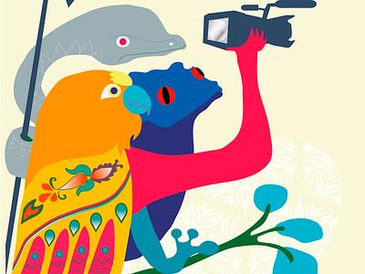 Festival de Cine Latino de Chicago filmfestival 2019 ilustracion faunalatina chicagolatinofilmfestival •filmfest