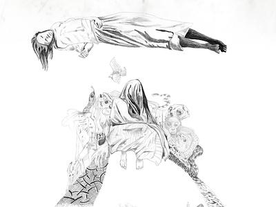 La Llorona film art º ilustracion diseño poster art warner bros lallorona film