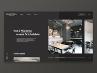 Small Restaurant   Concept Homepage