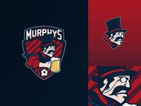 AC Murphy's Football team Logo