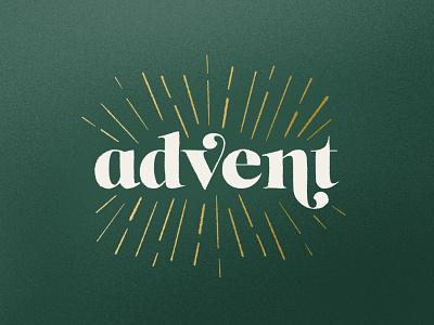 Advent typography cover art jesus advent christmas
