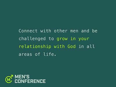 RightNow Media Men's Conference 2021 jesus men branding conference design conference