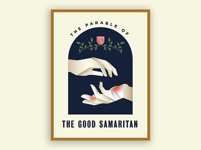 The Parable of the Good Samaritan samaritan illustration cover bible jesus