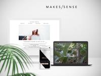 Makes/Sense web