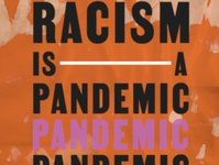 Racism is a Pandemic | Protest Poster graphic design poster protest collage editorial style empowerment typography design