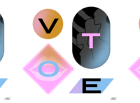 Vote! graphic design handdrawn photoshop texture protest political democracy poster vote typography illustration design