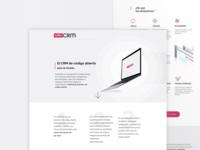 Suite CRM Landing Page