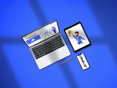 Web Design Mockup presentation photoshop presentation design presentation mockup design template adobe xd web illustration website clean portfolio profile ux branding ui design web design