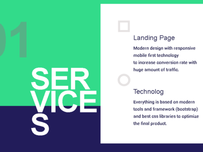 Services Design Section fashion colors trend graphic design creative clean logo web app animation illustration ui ux flat portfolio landing page website profile design branding