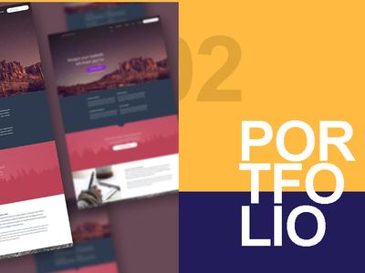 Portfolio Design Section