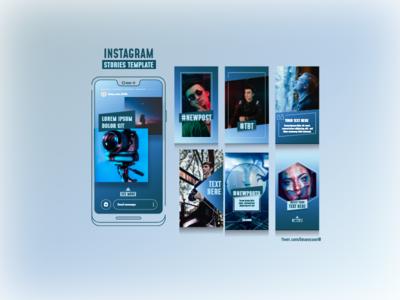 """Instagram Stories"" Template"