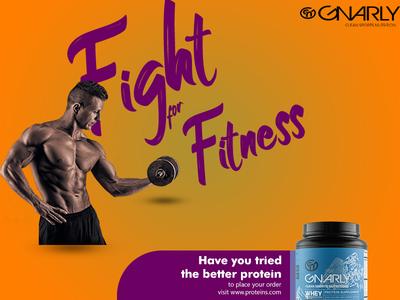 Fitness Poster Design