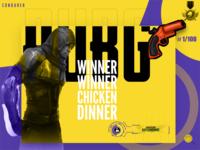 pubg website header design
