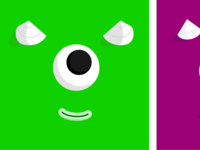Monster triptych 1/3