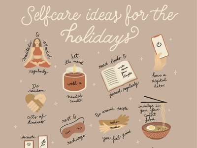 Creative Inspiration № 9 - Lettering Collection procreate selflove digitalart selfcare design lettering illustration