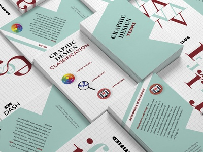From A-Z Graphic Design Terms Cards