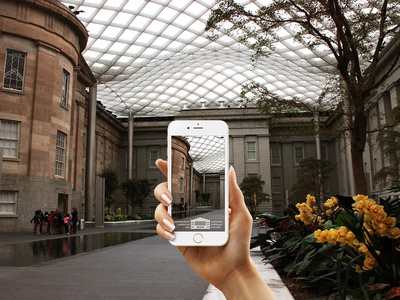 Snapchat Geofilter for Smithsonian's NPG & SAAM
