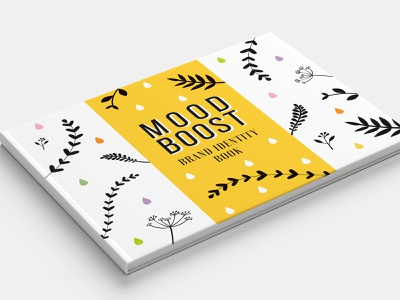 Mood Boost Essential Oils - Brand Identity Book aromatherapy branding essential oil mood boost