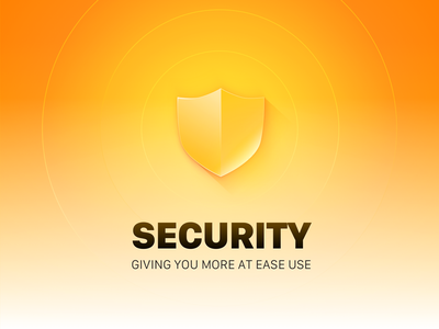 Security protection guarantee safeguard security safety banner 海报 icon logo design shields