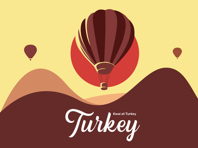 Turkey country 商标 设计 海报 插图