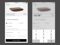 002 Payment Screen