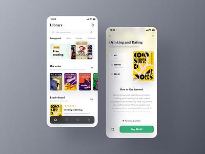 Reading app 品牌 vector mobile ui design 图标 动画 应用 设计 ui
