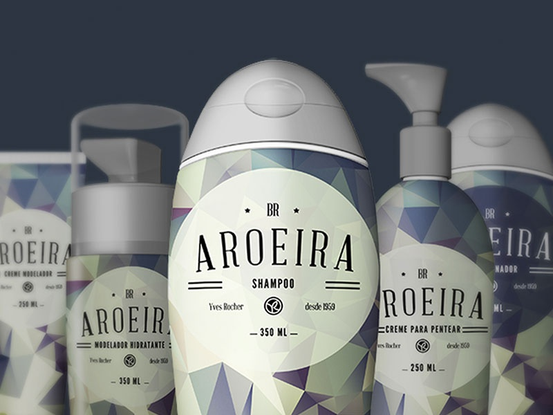 Aroeira | Yves Rocher cosmetics package identity aroeira logo packing yves rocher