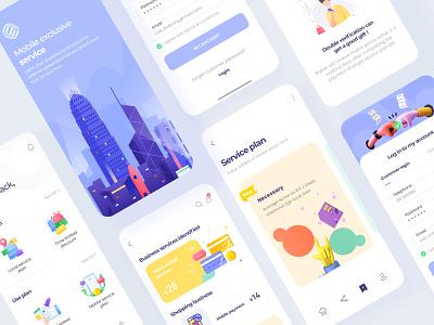 Mobile e-commerce in Hong Kong 02 mobile illustration design icon