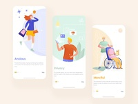 Civitas App Guide Page ui illustration app