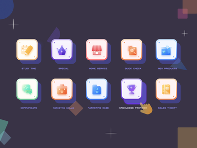 Learning app Icon icon design