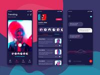 NetRed Video Communication App