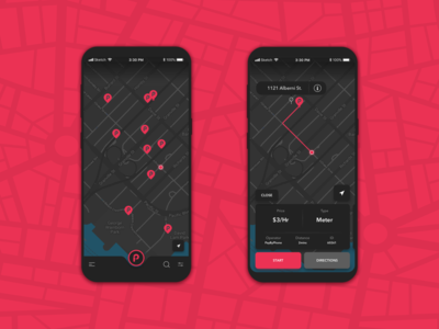 ParkIt     Find Parking App
